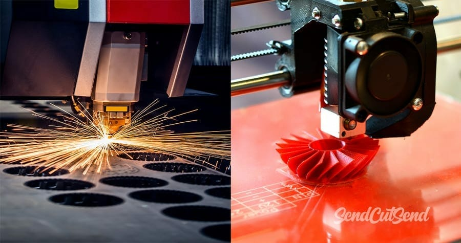Laser Cutting vs 3D Printing: Which One Should You Choose?