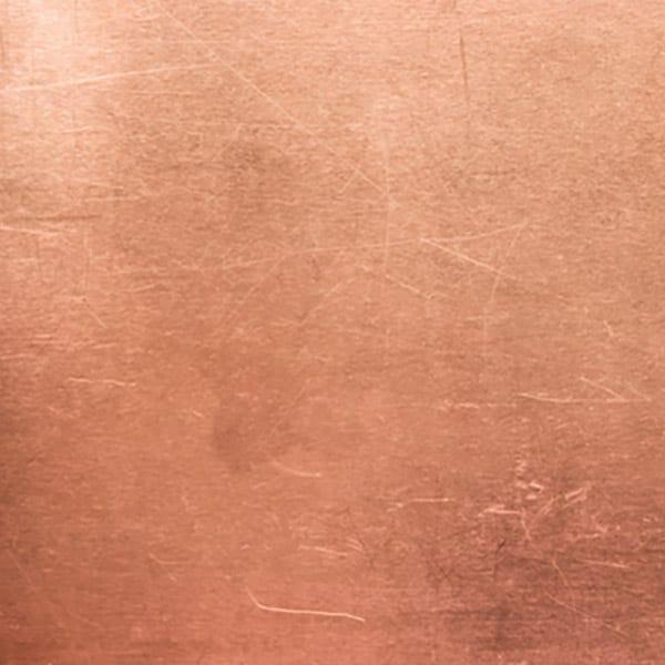Laser-cut Copper